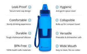 best backpacking water bottle